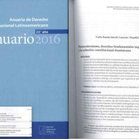 Konrad Adenauer Stiftung – Anuario de Derecho Constitucional Latinoamericano 2016