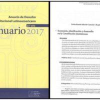 Anuario de Derecho Constitucional Latinoamericano 23º. año – Anuario 2017