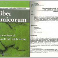 Dr. Luis R. Del Castillo Morales – Liber Amicorum